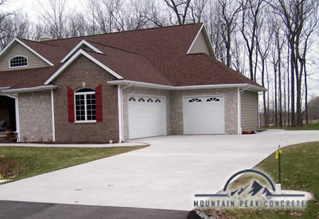 Residential Concrete Driveways